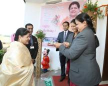 Birthday Celebration of Hon. Chairperson mam